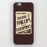 gta iPhone & iPod Skins featuring GTA Trevor Phillips Enterprises by Spyck