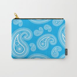 Blue paisleys Carry-All Pouch