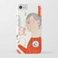 letters iPhone & iPod Cases featuring LETTERS by Sara Stefanini