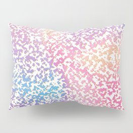 Abstract lavender pink ombre modern pattern Pillow Sham