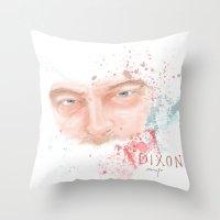 daryl dixon Throw Pillows featuring Daryl Dixon by Caroline.Sweet
