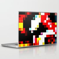 pixel Laptop & iPad Skins featuring pixel by shopcicelysiller