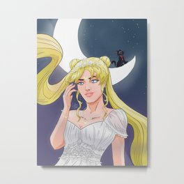 Moonlight vanity Metal Print