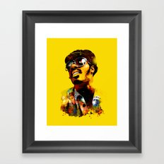 WONDER STAR Framed Art Print