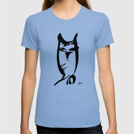 Owl - Fusion of pen strokes T-shirt