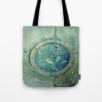 portal Tote Bags featuring Portal by Labartwurx