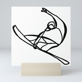 Surf : Snow VIII Mini Art Print