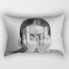 Anti-Hate Rectangular Pillow