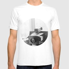 picture that White MEDIUM Mens Fitted Tee