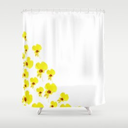 just a flower Shower Curtain