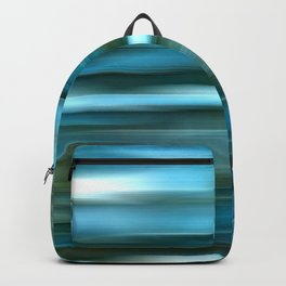 Abstract Blue Water Texture Backpack