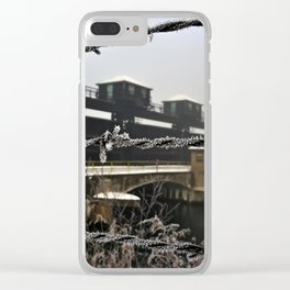 Wired Hydroelectric Clear iPhone Case