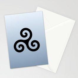 Triskele 6 -triskelion,triquètre,triscèle,spiral,celtic,Trisquelión,rotational Stationery Cards