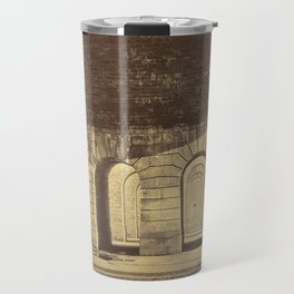 Auguste Hippolyte Collard - Pont du Point du Jour, Viaduct of Auteuil (1866) Travel Mug