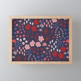 Ditsy Floral Framed Mini Art Print