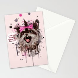 Rose The Raccoon Stationery Cards