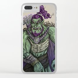 Ork Warrior Clear iPhone Case