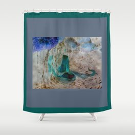 Mermaid: Back Shower Curtain