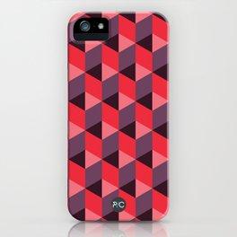 Queen of Hearts [isometrix 013] iPhone Case
