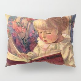 """A Quiet Corner"" by Jessie Willcox Smith Pillow Sham"