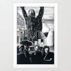 Humanity Rising Art Print