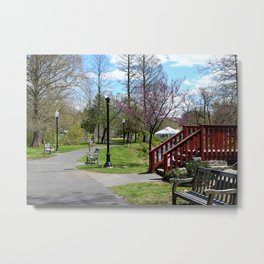 The Scenic Route Metal Print