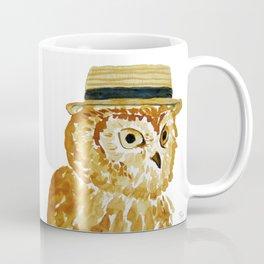 Dapper Owl or Owl Capone? Coffee Mug