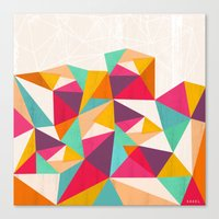 diamond Canvas Prints featuring Diamond by Kakel