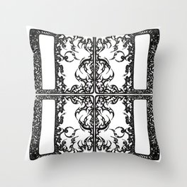 Way Within Window Throw Pillow