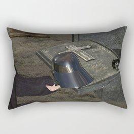 War Stars: Anakin Yorick Vader Skywalker Rectangular Pillow
