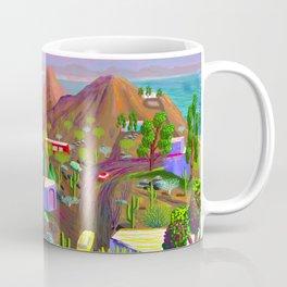 Phoenix after California falls in the Ocean Coffee Mug