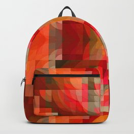 Visions of Spring Abstract Backpack