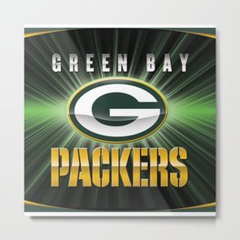 packers football club Metal Print