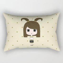 Capricorn Girl Rectangular Pillow