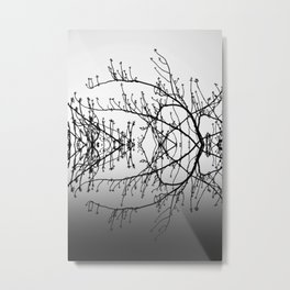 THE RORSCHACH TREE 48 Metal Print