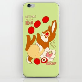 Jackalope and Lychee iPhone Skin