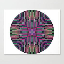 See The Strings ep Original Artwork by Franccesco Cardenas Typ3 Records Canvas Print