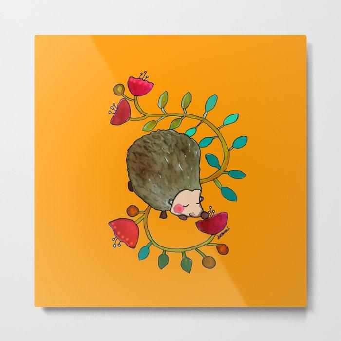 arthur the hedgehog Metal Print