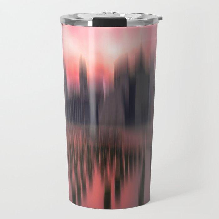 New city red Travel Mug