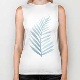 Palm leaves Biker Tank