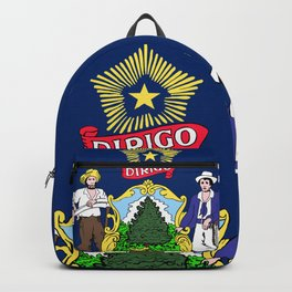 Maine State Flag Backpack