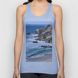 CALIFORNIA COAST - BLUE OCEAN Unisex Tank Top