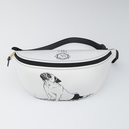 Be Still Pug Fanny Pack