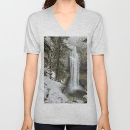 Salt Creek Falls, Another View Unisex V-Neck