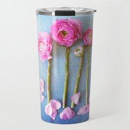 Wild Flowers and Spring Asparagus Travel Mug