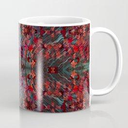 Emerald fall geometry Coffee Mug