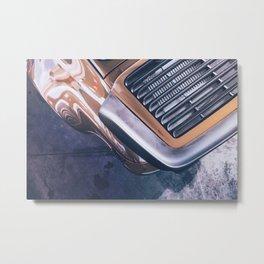 Turbo Lines Metal Print