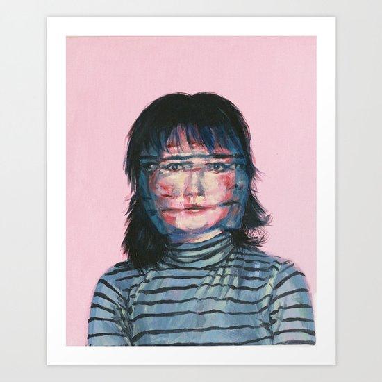 Blurriness Art Print