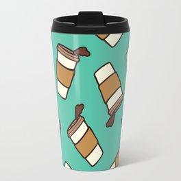 Take it Away Coffee Pattern Travel Mug