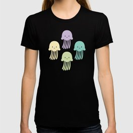Cute colorful jellyfishes T-shirt